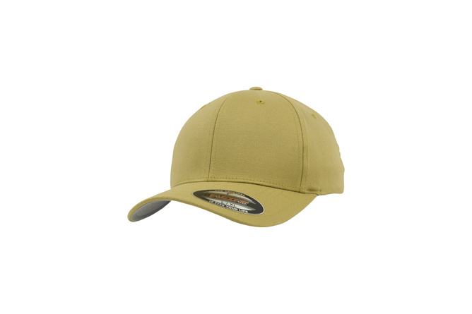 Casquette baseball enfant Wooly Combed Flexfit curry
