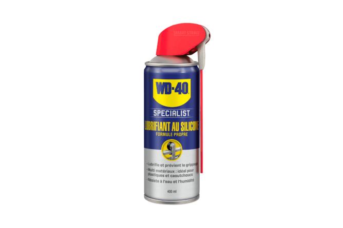 Lubrifiant au silicone WD-40 Specialist spray double position 400ml